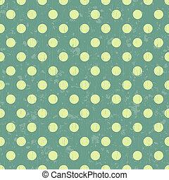 seamless retro dot background