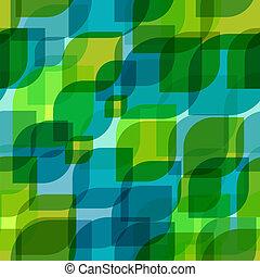 seamless, retro, geometrisch, pattern.