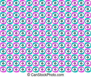 Seamless retro pattern