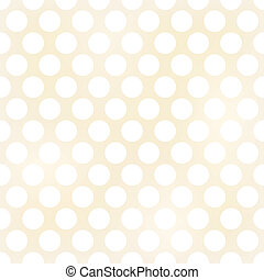 Seamless retro polka dots background