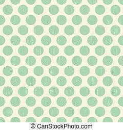 seamless retro polka texture