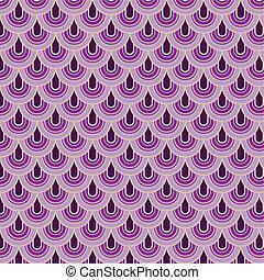 Seamless retro vector pattern