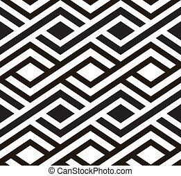 seamless, retro, vector., tile.