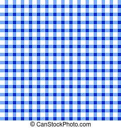 Seamless retro white-blue cloth