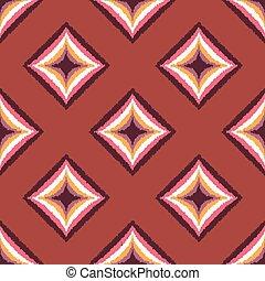 seamless rhombus diamond pattern