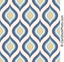 seamless rhombus ornament pattern