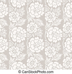 Seamless rose flower background