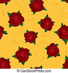 seamless roses