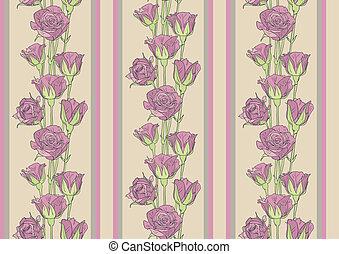 Seamless roses wallpaper