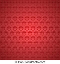 seamless, rouges, flocon de neige, fond