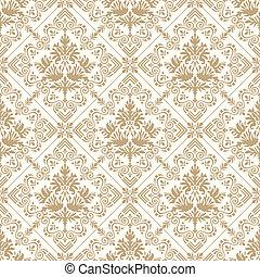 Seamless royal golden wallpaper