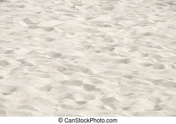 Seamless sand closeup background, White sand of the tropilal...