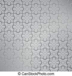 Seamless silver damask wallpaper - Damask wallpaper pattern...