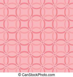 Seamless simple geometric pattern. Vector illustration. Background