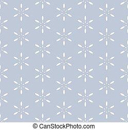 Seamless simple monochrome pattern. Vector art.