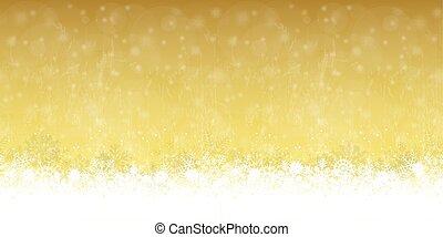 seamless snow flakes background - seamless snow flakes on...