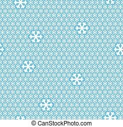 seamless snow flakes background