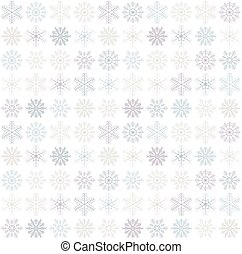 seamless snowflake background - seamless blue and white ...
