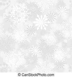 Seamless snowflake patterns. Fully editable EPS 10 vector illustration with transparency.