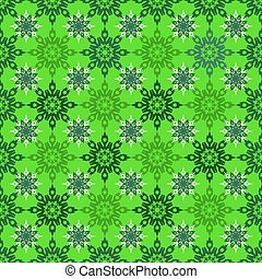 seamless snowflakes 3