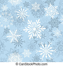 seamless snowflakes background - Seamless snowflakes ...