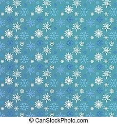 seamless, snowflakes