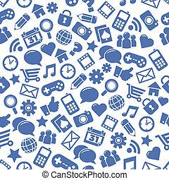Seamless Social Media Patterns