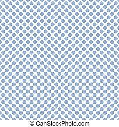 Seamless soft blue polka dots pattern texture background
