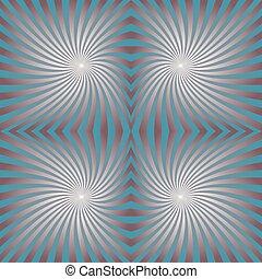 Seamless spiral pattern design background