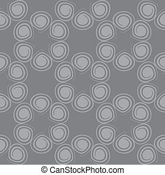 Seamless spiral pattern gray color