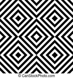Seamless Square and Stripe Pattern