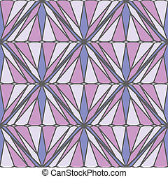 Seamless Square Pattern with diamnond shapes