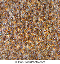 Seamless square texture - rusty metal closeup - Seamless ...