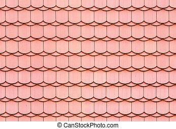 seamless, střecha pokrýt dladicemi, tkanivo