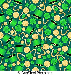 Seamless St. Patricks Day Background