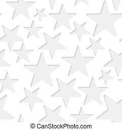 Seamless stars paper pattern - Seamless paper pattern with...