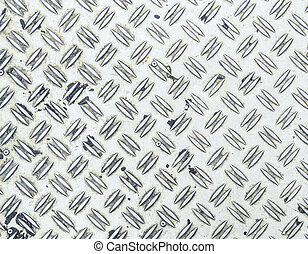 Seamless steel diamond plate background
