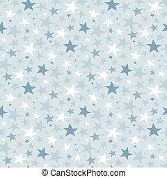 seamless, stjärna, mönster, och, bakgrund, vektor, illustration
