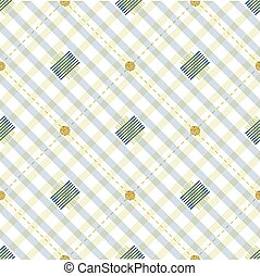 seamless stripe pattern background with gold dot glitter