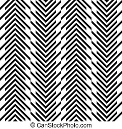 Seamless Stripe Pattern. Vector Black and White Texture