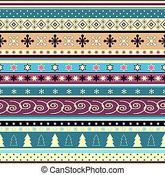 Seamless striped christmas wallpaper