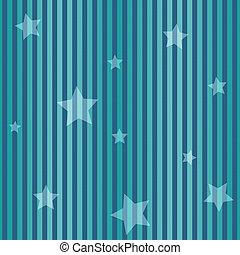 seamless, stripes, &, stjärnor