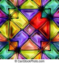 seamless, struktúra, közül, elvont, fényes, fényes, színes, geometric alakzat
