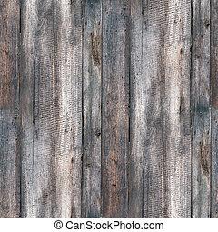 seamless, struktur, staket, gammal, ved, med, sprickor