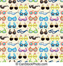 seamless Sunglasses pattern  - seamless Sunglasses pattern