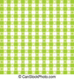 Seamless Tablecloth Gingham Pattern - Seamless pattern, ...
