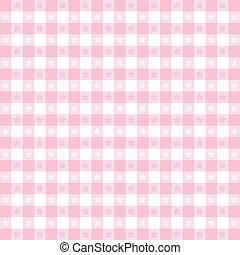 Seamless Tablecloth Gingham Pattern - Seamless pattern, ...