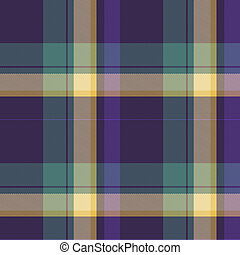 Seamless tartan generated hires texture