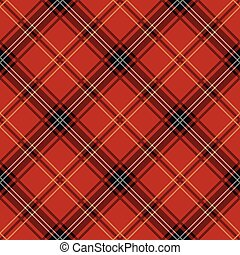 Seamless Tartan Pattern - Seamless tartan pattern....