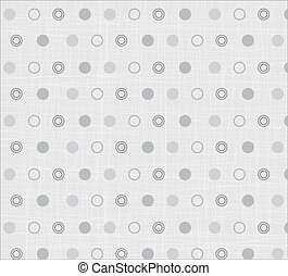 Seamless textile quilt pattern in white and grey colors